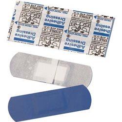 Tiritas detectables azules