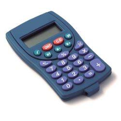 Calculadora detectable de bolsillo