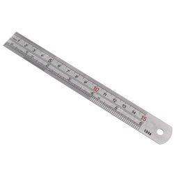 Regla metálica 15 cm.