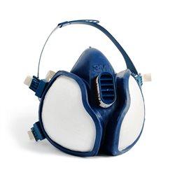 Serie 4000 Máscara autofiltrante para gases y vapores