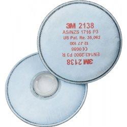 Filtro P3R, vapores orgánicos y gases ácidos, ozono